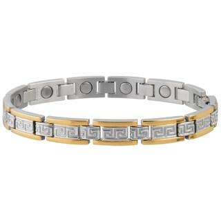 Sabona Lady Greek Key Duet Bracelet