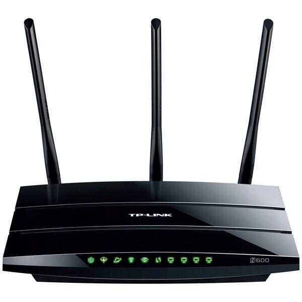 TP-LINK TD-W8980 N600 Wireless Dual Band Gigabit ADSL2+ Modem Router,