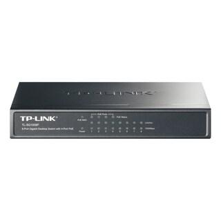 TP-LINK TL-SG1008P 8-Port Gigabit Desktop POE Switch with 4 PoE Ports