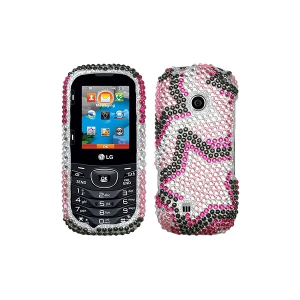 MYBAT Twin Stars Diamante Case for LG VN251 Cosmos 2