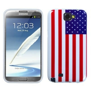INSTEN US National Flag Phone Case Cover for Samsung Galaxy Note II T989/ I605