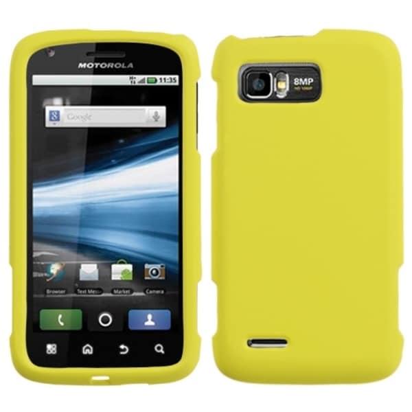 MYBAT Yellow Case for Motorola MB865 Atrix 2