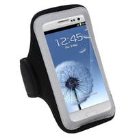 INSTEN Black Vertical Armband for Samsung Galaxy S III/ S3