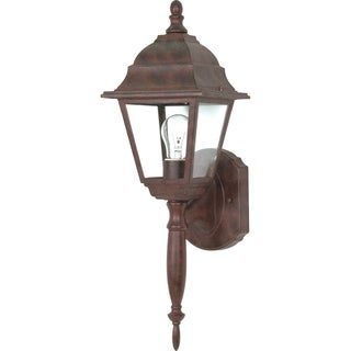 Nuvo Briton 1-light Old Bronze Wall Lantern