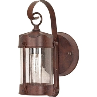 Nuvo 1-light Old Bronze Piper Wall Lantern