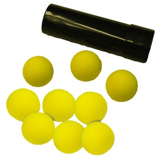 Water Sports Ball Launcher Adapter and 6 Replacement Balls
