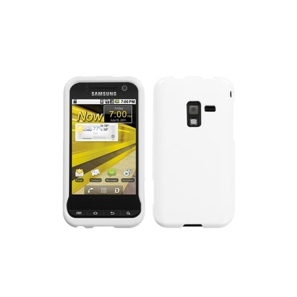 INSTEN Ivory White Phone Protector Case Cover for Samsung D600 Conquer 4G