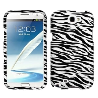 INSTEN Zebra Skin Phone Protector Case Cover for Samsung Galaxy Note 2