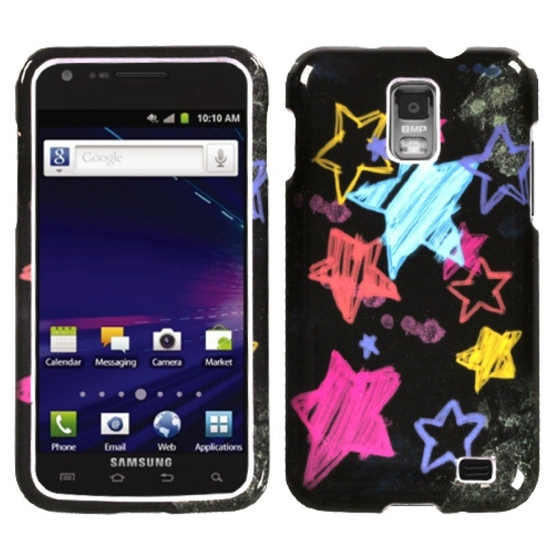 Insten Chalkboard Star Black Phone Case Cover for Samsung...