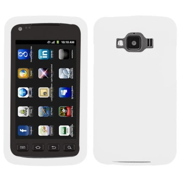 INSTEN White Solid Skin Case Cover for Samsung I847 Rugby Smart
