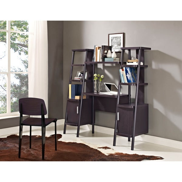 Altra Ladder Bookcase Wall Desk