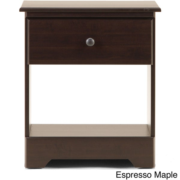 Open Shelf 1 Drawer Nightstand Free Shipping Today