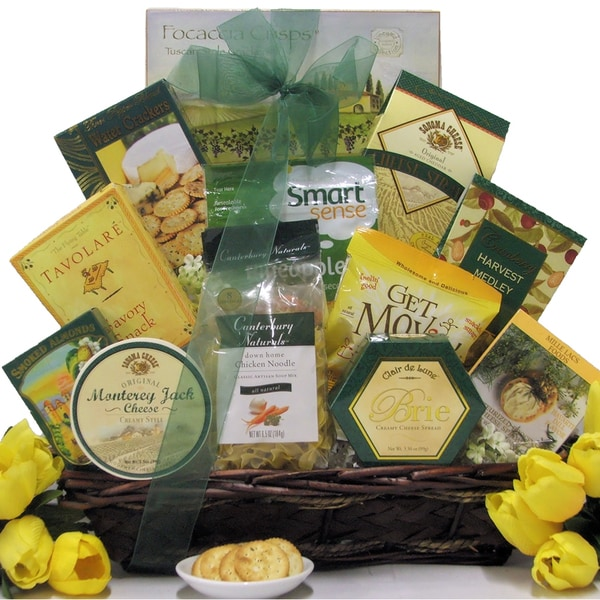 Great Arrivals Get Well Gift Basket