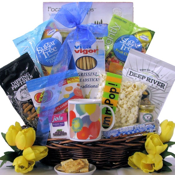 Great Arrivals Sugar Free Get Well Wishes Gift Basket