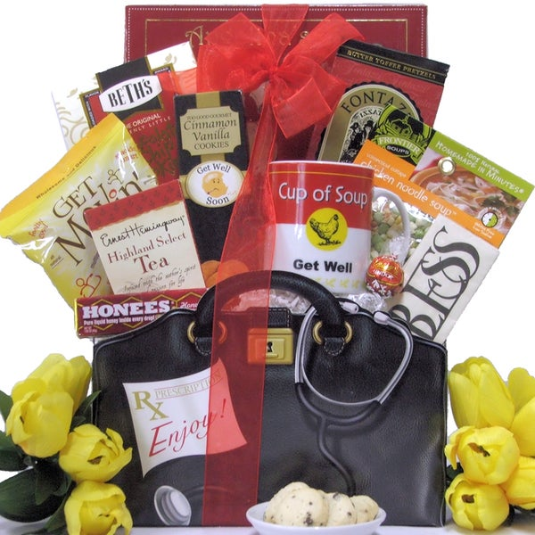 Great Arrivals Just What The Doctor Ordered: Get Well Gift Basket
