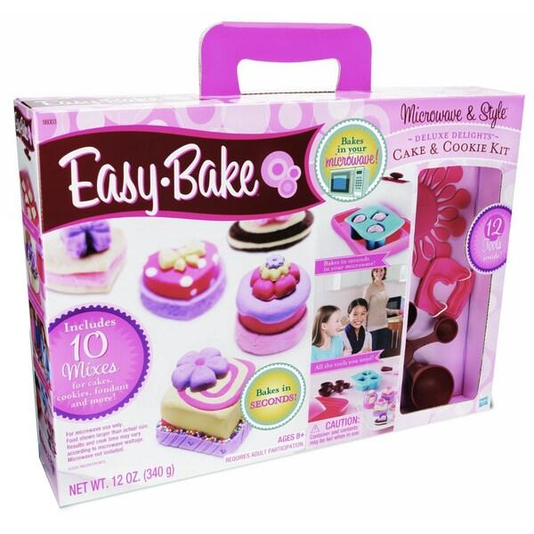 Easy-Bake Microwave & Style Set
