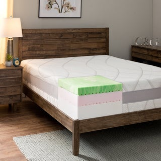 Comfort Dreams 13-inch King-size Gel Memory Foam Mattress with Thermo-Gel Cover