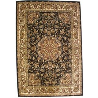 Bursa Black Indoor Area Rug (3'3 x 5')
