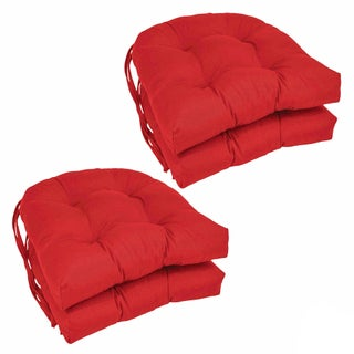 Blazing Needles 16-inch Dining Chair Cushions (Set of 4)