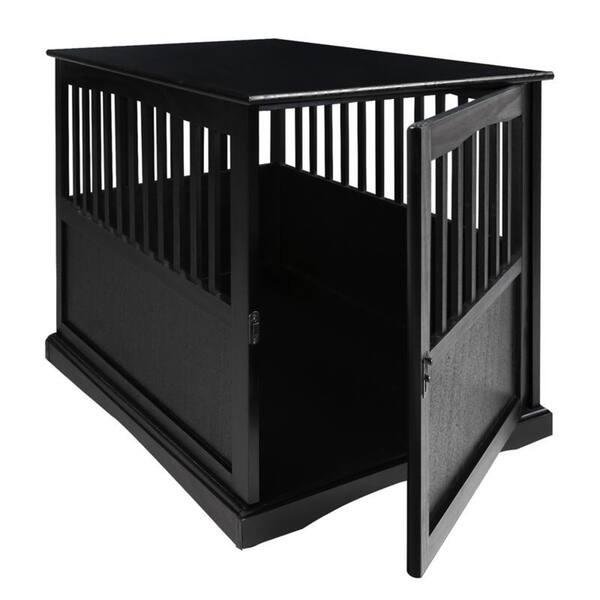 Shop Wooden Pet Crate End Table With Lockable Door Free