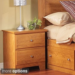 Lang Furniture Woodgrain 2-drawer Nightstand