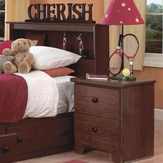 Lang Furniture 2-drawer Nightstand