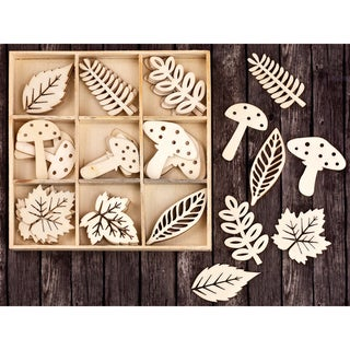 Shop Laser Cut Wood Icons In A Box Embellishments 1 5