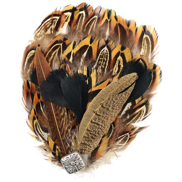Natural Feather Pad-Multi-Pheasant