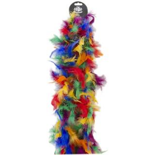 Chandelle Feather Boa-Vibrant Multicolor