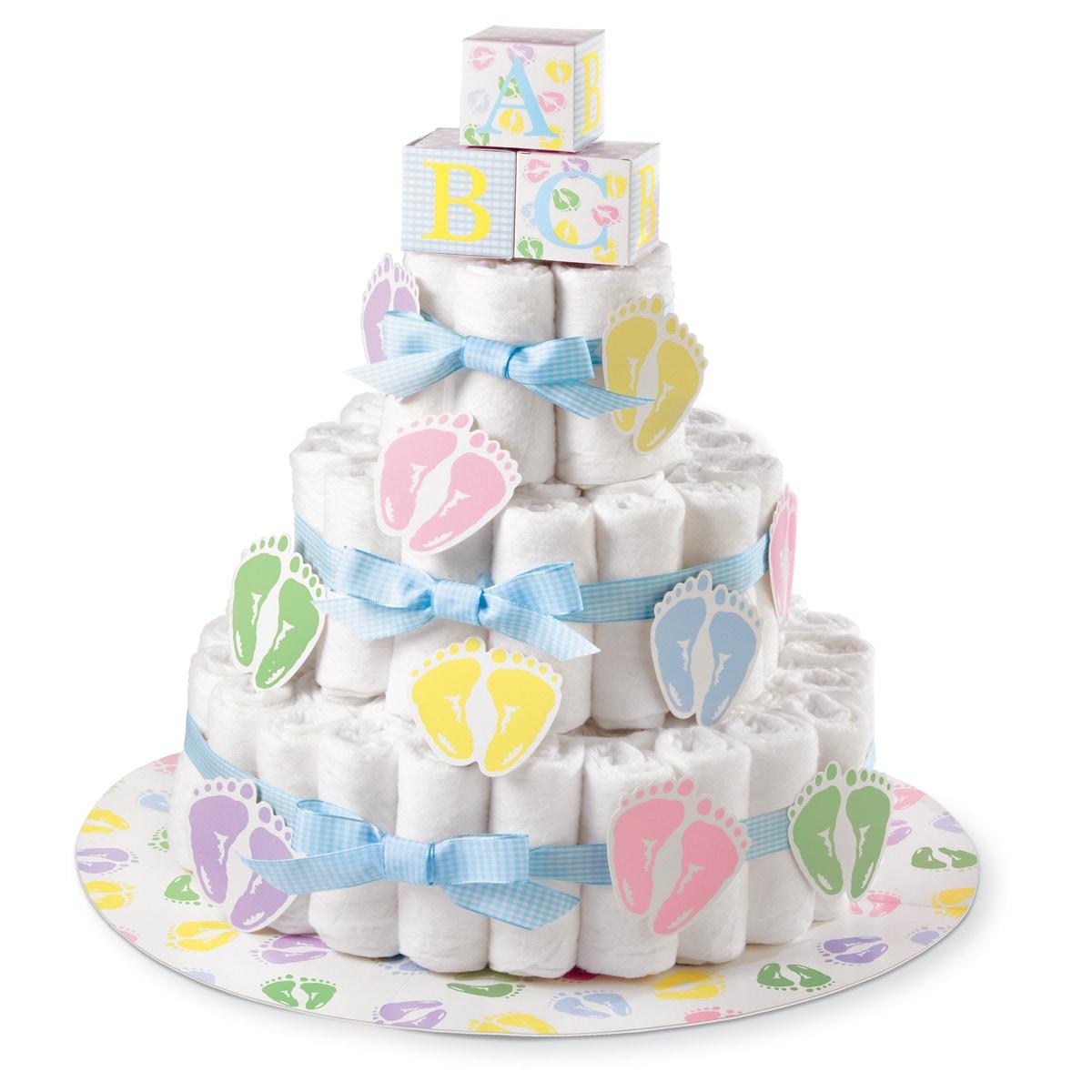 Wilton Diaper Cake Kit (Diaper Cake Kit), White