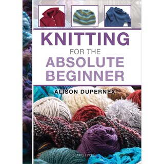 Search Press Books-Knitting For The Absolute Beginner