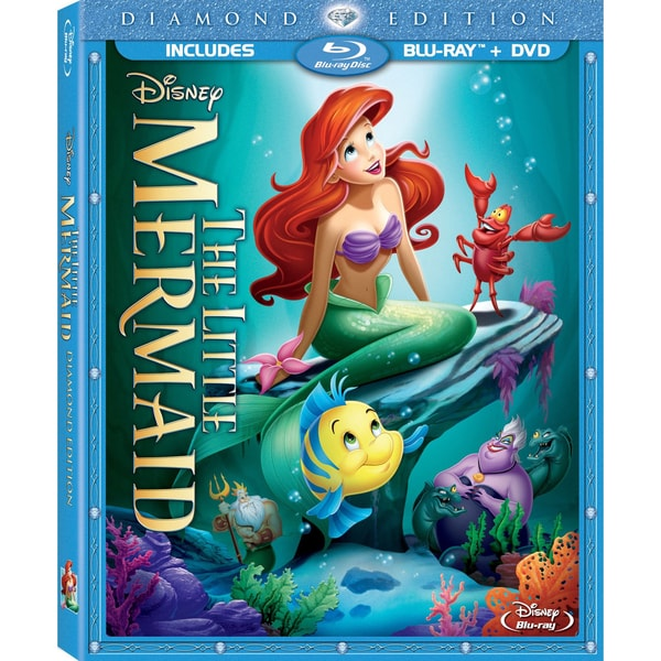 The Little Mermaid (Diamond Edition) (Blu-ray/DVD)
