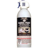 Upholstery Spray Fabric Paint 8 Ounces-Midnight Black