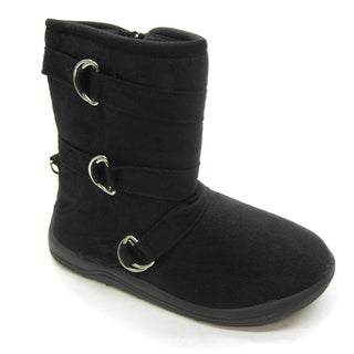 Blue Children's 'K-Katster' Black Boots