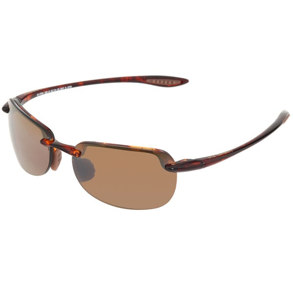 Maui Jim Unisex Sandy Beach H408 10 Tortoise Shell Sport Sunglasses Maui Jim Fashion Sunglasses