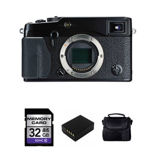 Fujifilm X-Pro1 16.3MP Digital Camera Body with 32GB Bundle