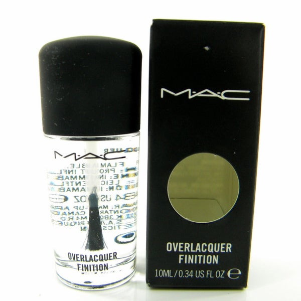 Shop MAC Overlacquer Finition Clear Nail Polish - Free Shipping On ...