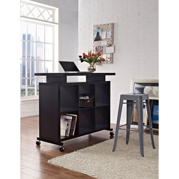Altra Standing Desk Shelves Free Shipping Today
