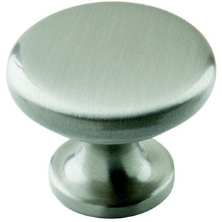 Amerock Traditional 1.25-Inch Satin Nickel Cabinet Knob (Pack of 5)