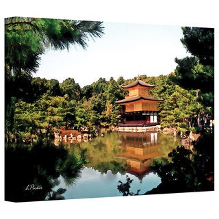 Linda Parker 'Kinkakuji' Gallery-Wrapped Canvas - Multi