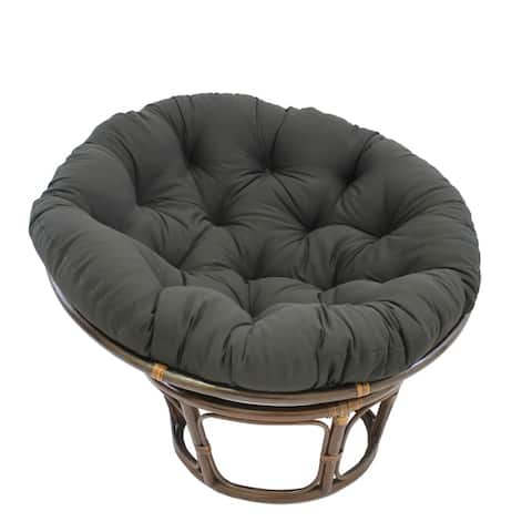 Blazing Needles 44-inch Solid Twill Papasan Cushion