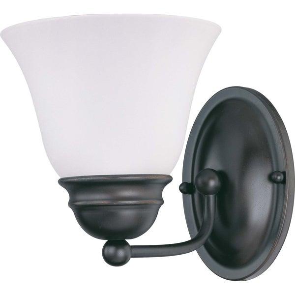 Nuvo Empire 1-light Mahogany Bronze Vanity Fixture