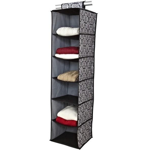 6 Shelf Delancey Closet Organizer