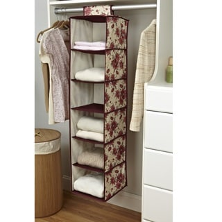 Laura Ashley 'Milner' 6-shelf Closet Organizer