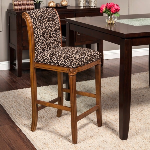 Leopard Animal Print Bar Stool Free Shipping Today  : HomePop Leopard Animal Print Bar Stool 6b4b73d4 a3b4 451c a9dd 2a5470cc84bb600 from www.overstock.com size 600 x 600 jpeg 103kB