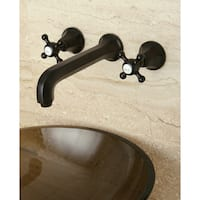 Wall-mount Oil-rubbed Bronze Vessel Faucet
