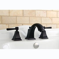 Oil Rubbed Dark Bronze Widespread Bathroom Faucet - Free Shipping ...