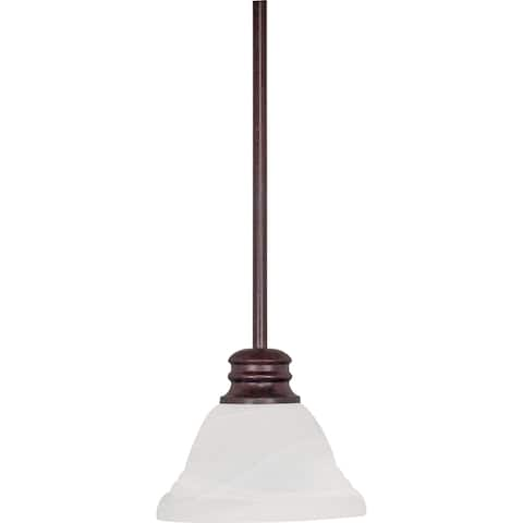Buy bronze finish alabaster pendant lighting online at overstock nuvo empire 1 light old bronze pendant aloadofball Image collections