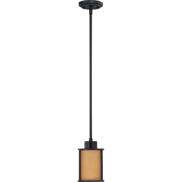 Nuvo Odeon 1-light Aged Bronze Pendant