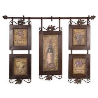 Uttermost Grace Feyock 'Hanging Wine' Framed Art